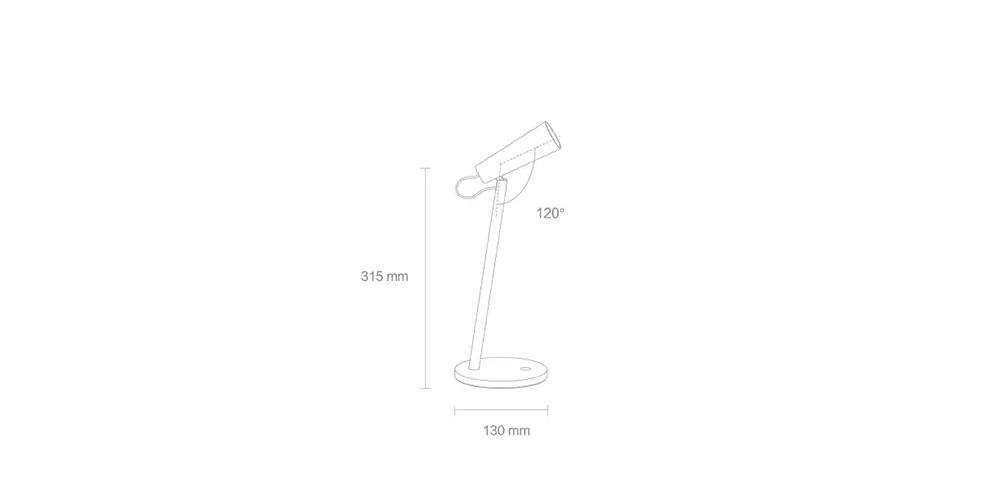 طراحی چراغ مطالعه میجیا شیائومی MJTD03YL
