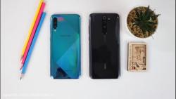 تست سرعت و گیمینگ بین Redmi Note 8 Pro و Galaxy A50s