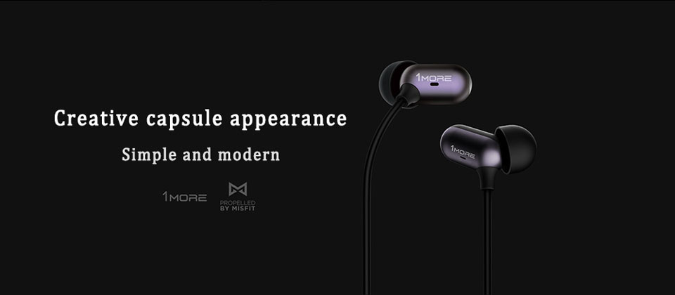 هندزفری شیائومی 1More Capsule Dual Driver In-Ear Headphones