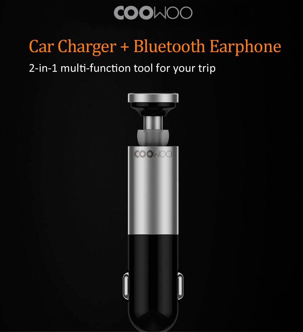شارژر Xiaomi CooWoo Bluetooth Car
