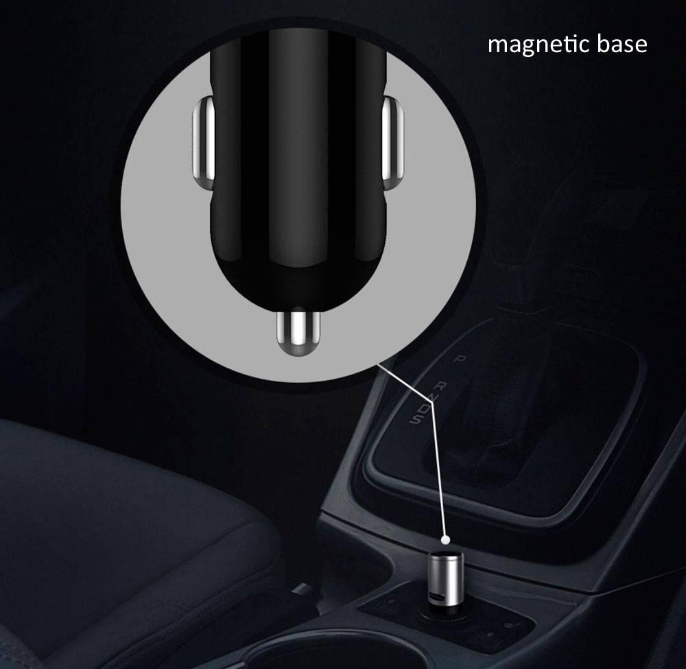 شارژر Xiaomi CooWoo Bluetooth Car