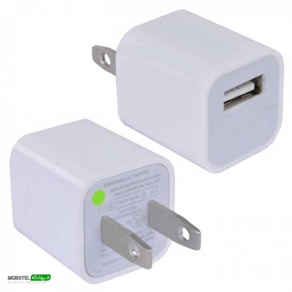 آداپتور شارژ 5 وات اپل (Apple 5W USB Power Adapter)