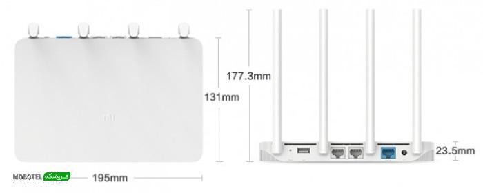 روتر 3 وای فای شیائومی - Xiaomi Mi Wireless Router 3