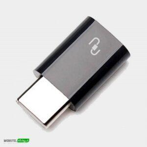 آداپتور تبدیل USB-C به microUSB شیائومی مدل mi4c