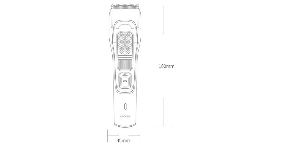 طراحی دستگاه اصلاح سر شیائومی Sharp3S
