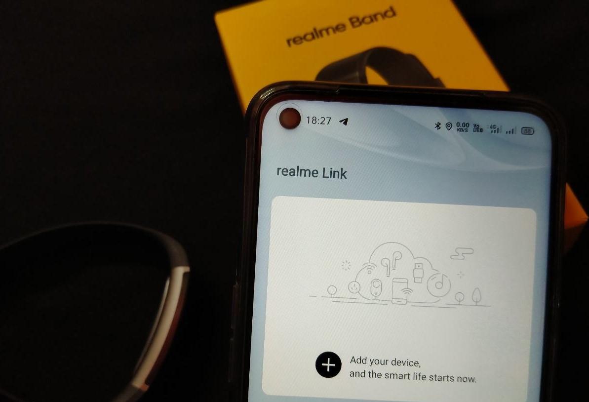 آموزش اضافه کردن ریلمی بند به نرمافزار realme Link