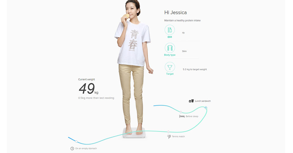 ترازوی هوشمند ورژن ۲ شیائومی - Xiaomi Smart Scale ۲