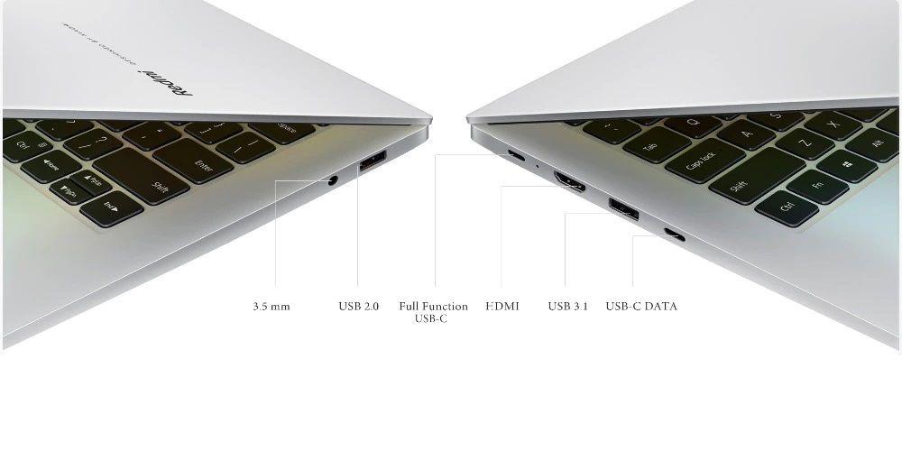 اتصالات لپ تاپ شیائومی ردمی بوک 14 II R5 4500U