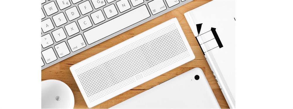 اسپیکر پرتابل بلوتوث مدل مستطیل - Speaker Square Box 1 White