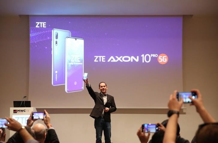 ZTE اسمارتفون 5جی خود را عرضه کرد