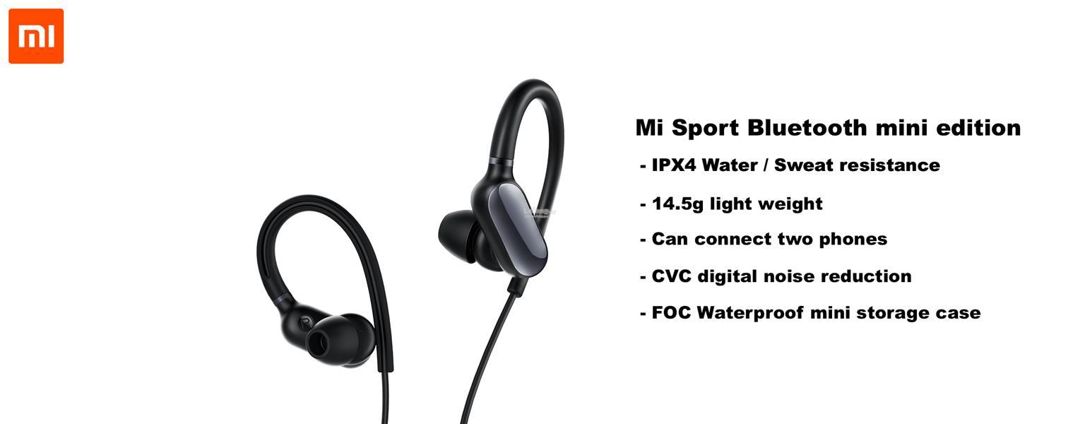 هدفون بلوتوث ورزشی شیائومی ( Xiaomi Mi Sport Bluetooth Ear-Hook Headphones)